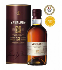 Aberlour 12 ans double cask matured sherry finish whisky single speyside