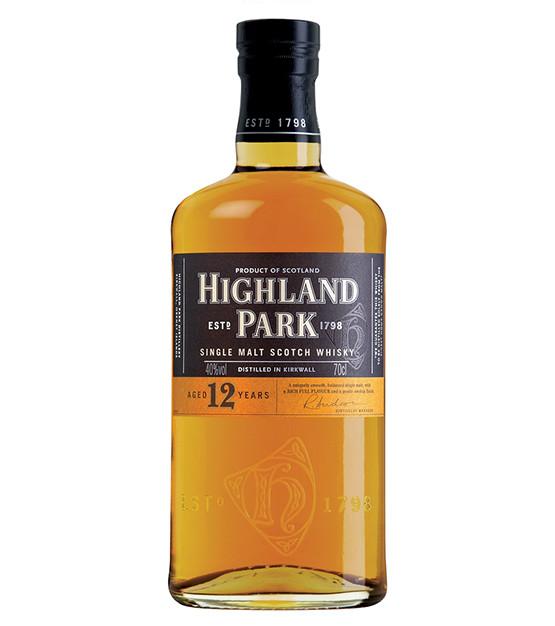 Highland Park 12 ans whisky single Orkney