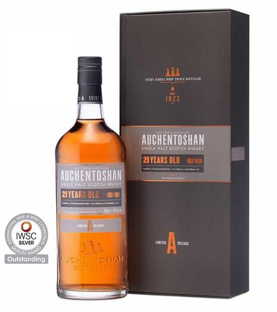 auchentoshan 21 ans single malt whisky