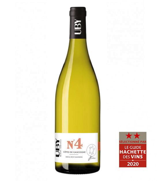Domaine Uby Gros & Petit Manseng N°4 Côtes de Gascogne