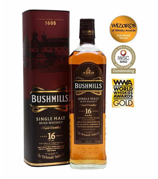 Bushmills 16 ans whiskey irlande single malt