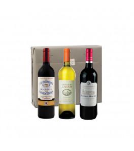 Coffret vins Pepites Bordelaises