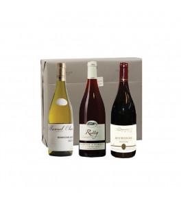 Coffret vins Etoiles de Bourgogne