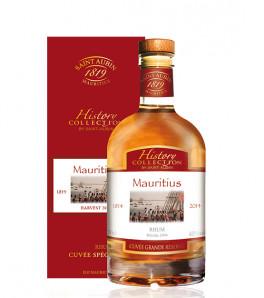 Saint Aubin History Collection Mauritius Rhum de l'île Maurice