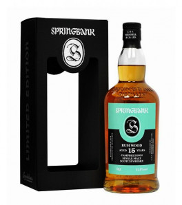 Springbank 15 ans rum wood whisky single malt Campbeltown