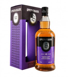Springbank 18 ans whisky single Campbeltown