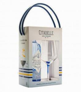 coffret gin citadelle et son verre de dégustation