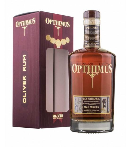 Opthimus 15 ans ron rhum République Dominicaine
