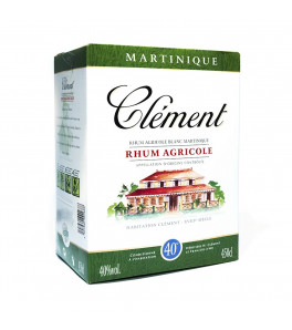 Clément Rhum Agricole Blanc Cubi 450cl / 50 %