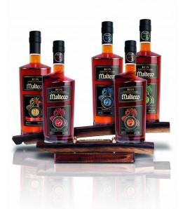 Malteco Présentoir 5 bouteilles 350cl / 43.10 %