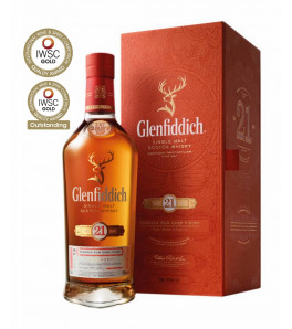 Glenfiddich 21 ans Rum Cask Finish 40 %
