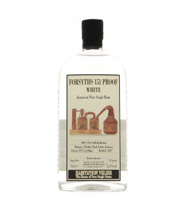 Worthy Forsyths 151 Proof Habitation Velier 75.5%