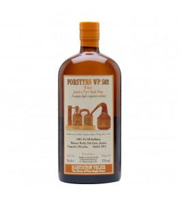 Worthy Forsyths WP 502 blanc Habitation Velier rhum 2015 57%
