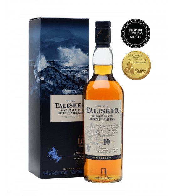 Talisker 10 ans whisky single Skye Etui