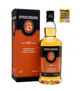 Springbank 10 ans whisky single Campbeltown