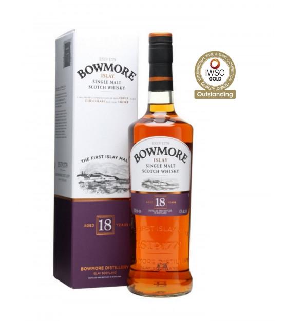 Bowmore 18 ans whisky single islay 43%