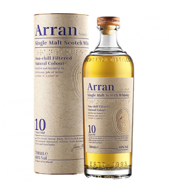 Arran 10 ans whisky Single Malt