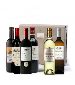 Coffret vins Bordeaux en fête 2020