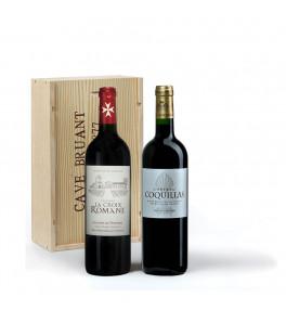 Coffret vins Finesse Bordelaise