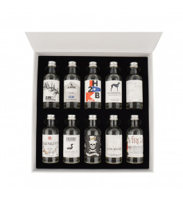 The Gin Box - World Tour Edition - Coffret Découverte Gin 50 cl