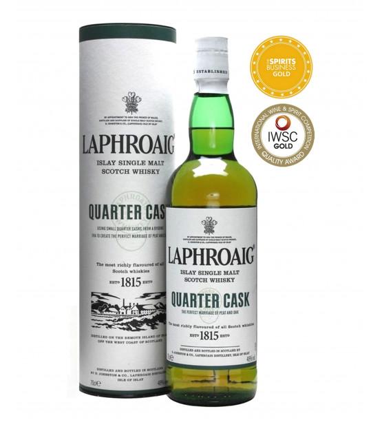 Laphroaig Quarter Cask whisky single Islay