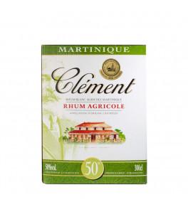 Clément Rhum Agricole Blanc Cubi 300cl / 50 %