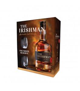 The Irishman Founder's Reserve coffret avec 2 verres