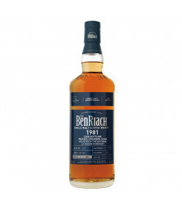 Benriach 38 ans 1981 Peated Bourbon Barrel Joint Bottling LMDW & The Nectar French Connections
