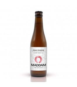 bière biologique Maddam Perle pourpre cerise