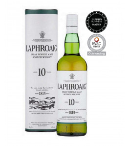 Laphroaig 10 ans whisky single malt Islay