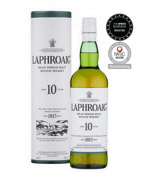 Laphroaig 10 ans whisky single malt Islay