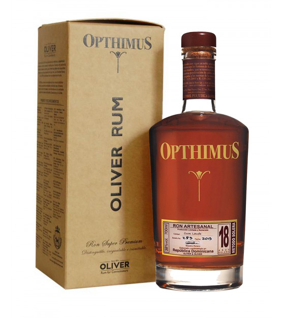 Opthimus 18 ans ron rhum République Dominicaine