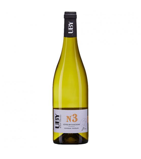 Domaine Uby Colombard-Ugni Blanc N°3 Côtes de Gascogne