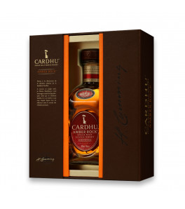 Cardhu Amber Rock single malt coffret creation