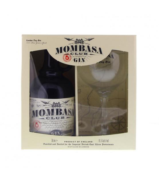 gin Mombasa Club Coffret 1 verre