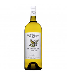 """""""Les premières grives"""" Vin de Pays de Gascogne Domaine Tariquet 150cl"""