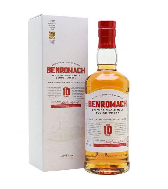 Benromach 10 ans Single Malt Scotch Whisky Speyside