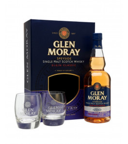 Coffret Glen Moray Port Cask Finish