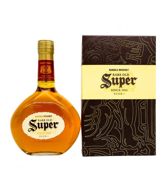 Nikka Whisky Super Rare Old un whisky blend avec son étui