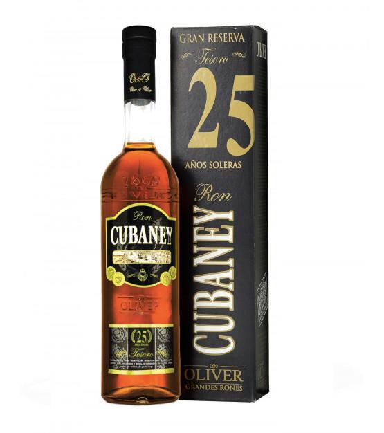 Cubaney XO 25 ans Tesoro Grand Reserve Solera